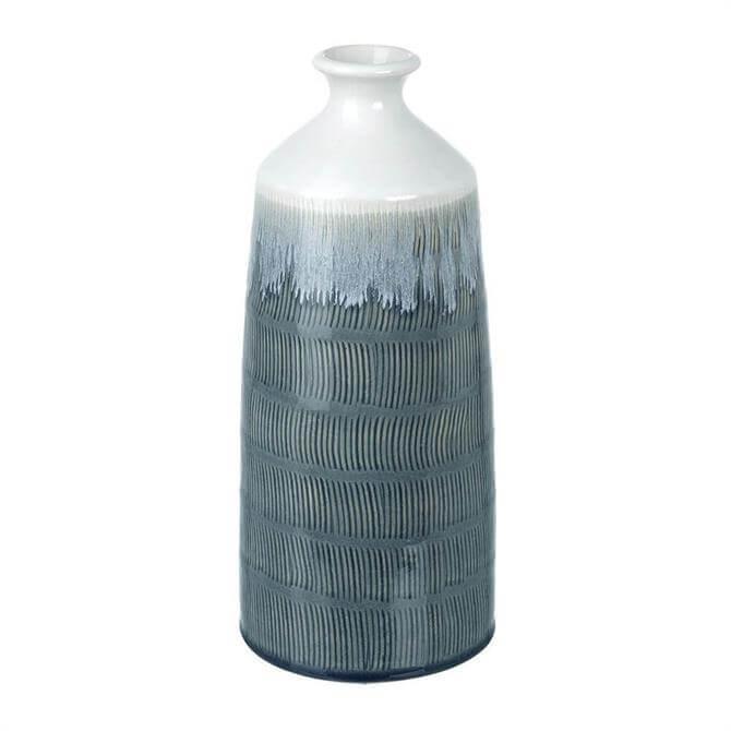 Parlane Mambo Ceramic Vase Blue