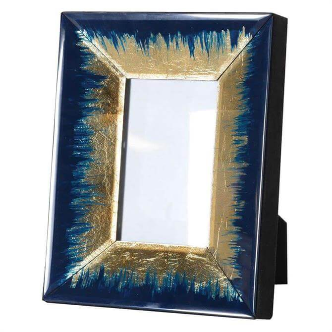 Indigo and Gold Fade Photoframe