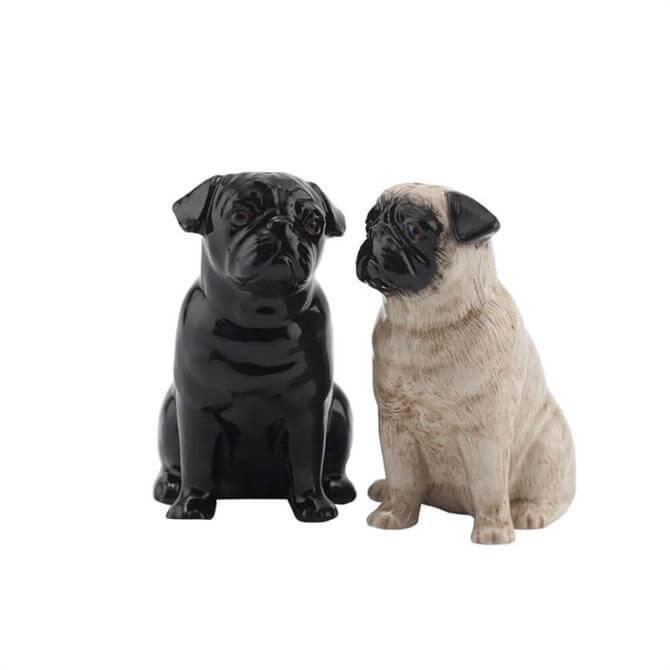 Pug Salt and Pepper 8.5cm