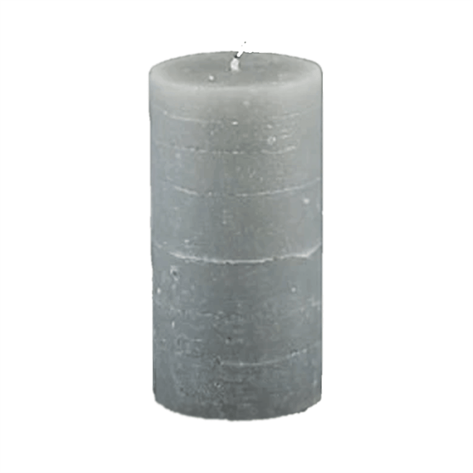 Broste Rustic Pillar Candles Rainy Day 13.5cm
