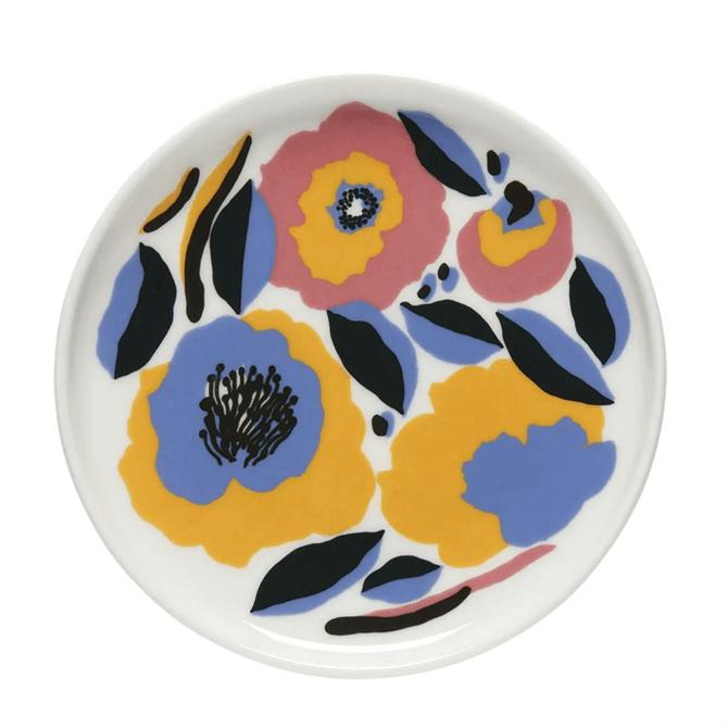 Marimekko Rosarium plate 13.5 cm