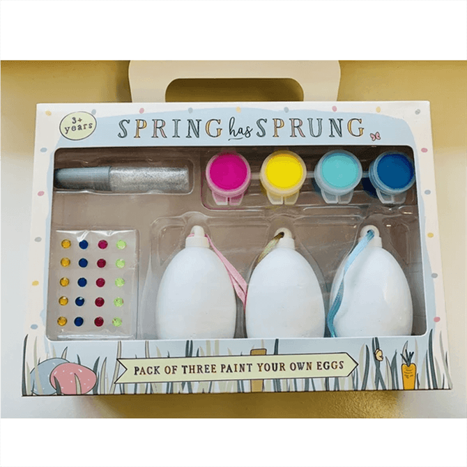 Spring Has Sprung Paint Your Own Eggs