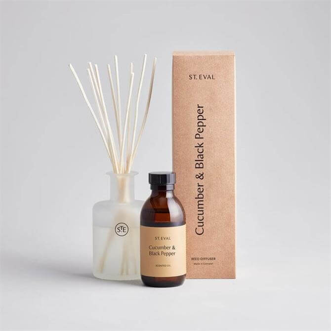 St Eval Cucumber & Black Pepper Reed Diffuser Gift Box