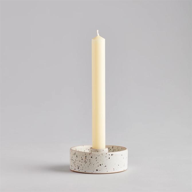 St Eval Speckled 7/8 inch Candle Holder