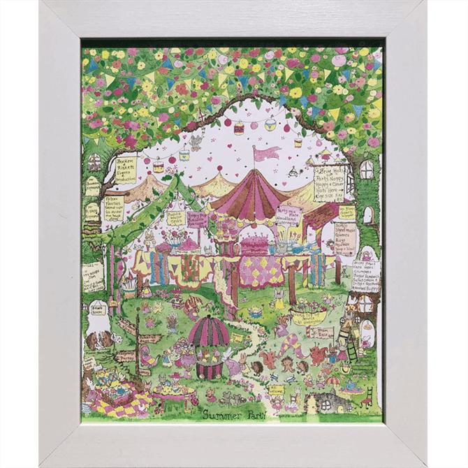 The Porch Fairies Summer Party Print