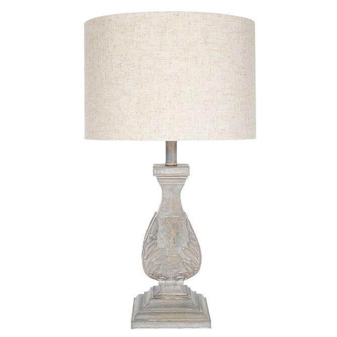 Grand Illusions Table Lamp Ingrid Antique Grey