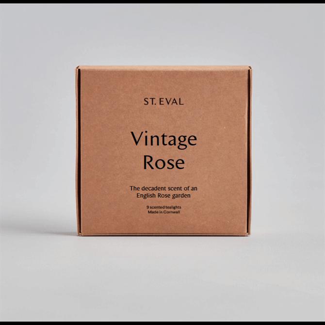 St Eval Vintage Rose Scented Tealights