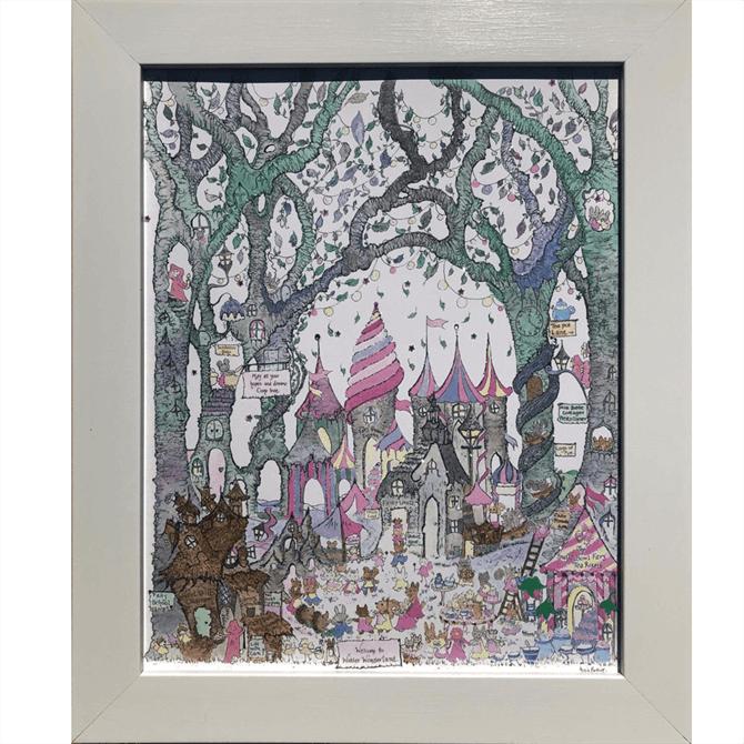 The Porch Fairies Winter Wonderland Print