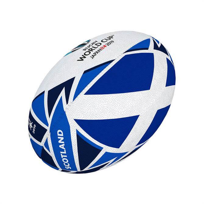 Gilbert RWC 19 Scotland Mini Rugby Ball