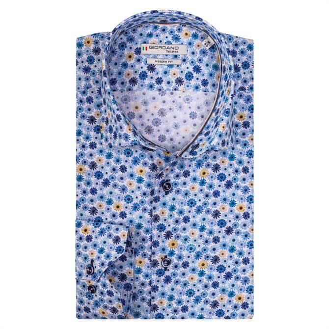 Giordano Maggiore Daisy Print Long Sleeve Shirt