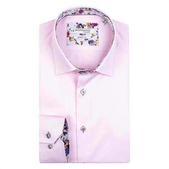 Giordano Brighton Pink Button Under Shirt