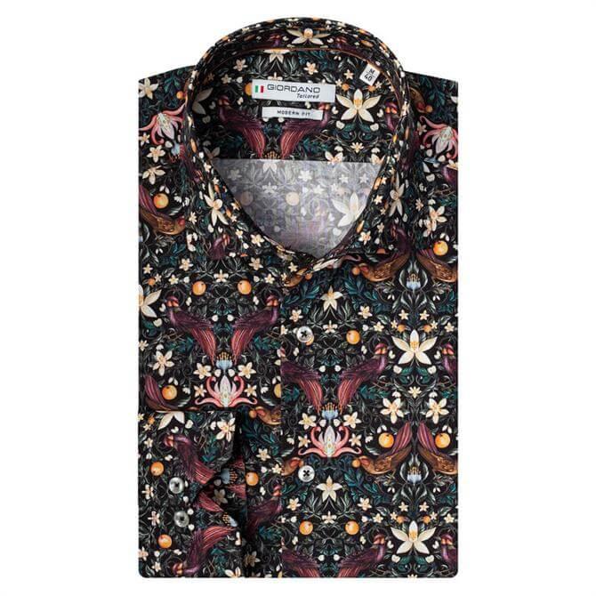 Giordano Maggiore Liberty Floral Print Cutaway Shirt