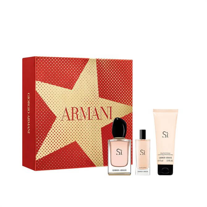 Armani Sì Eau de Parfum 50ml Christmas Gift Set for Her