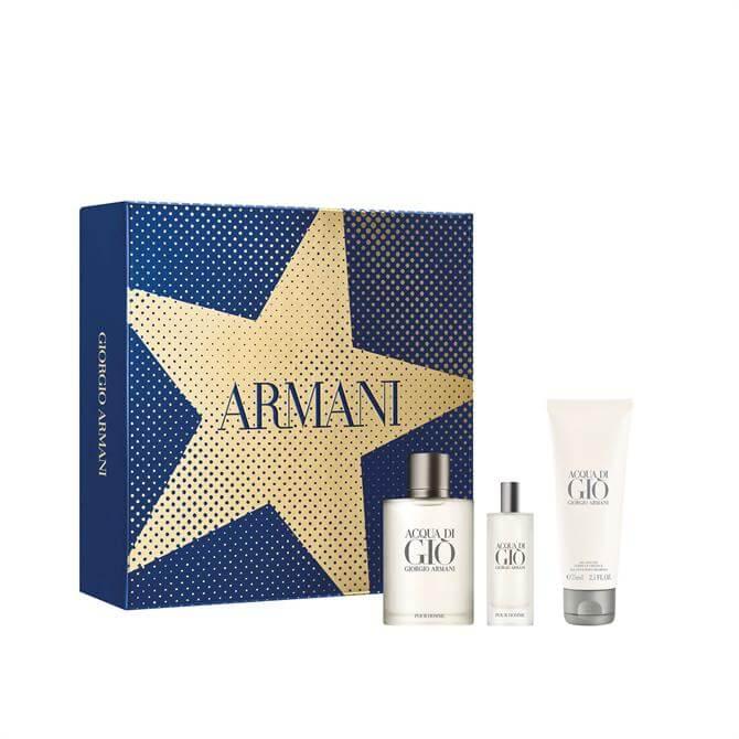 Giorgio Armani Acqua Di Giò Eau De Toilette Men's Aftershave Christmas Gift Set