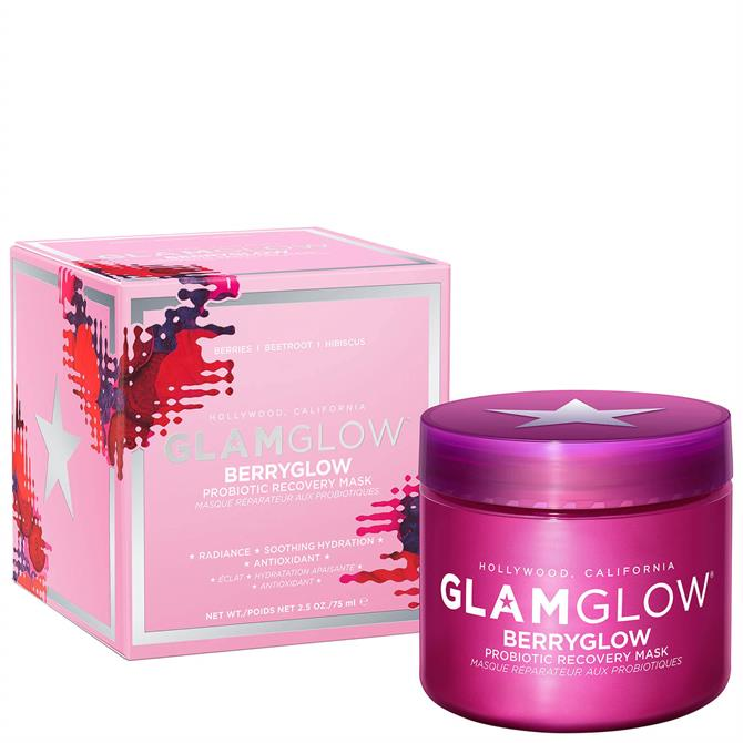 GlamGlow Berryglow Probiotic Recovery Face Mask 75ml