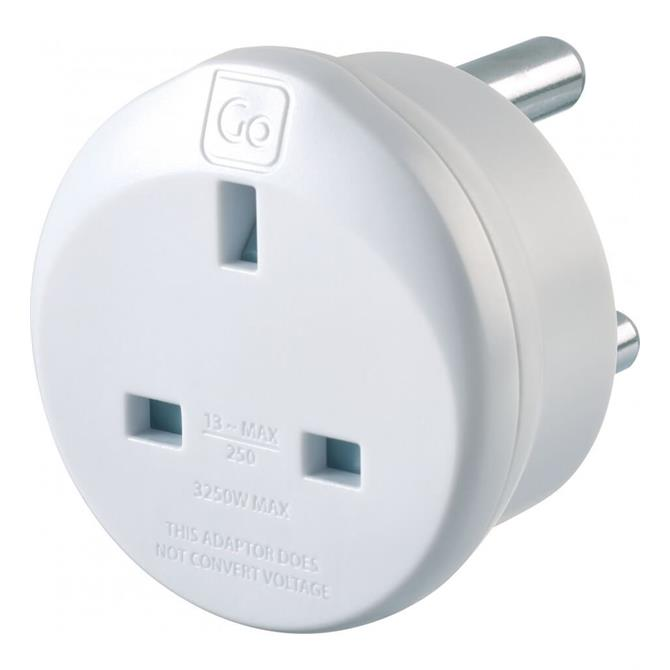 Go Travel UK to South Africa Travel Adaptor