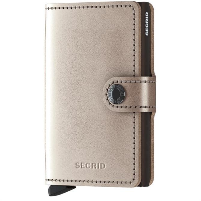 Secrid Metallic Mini Wallet