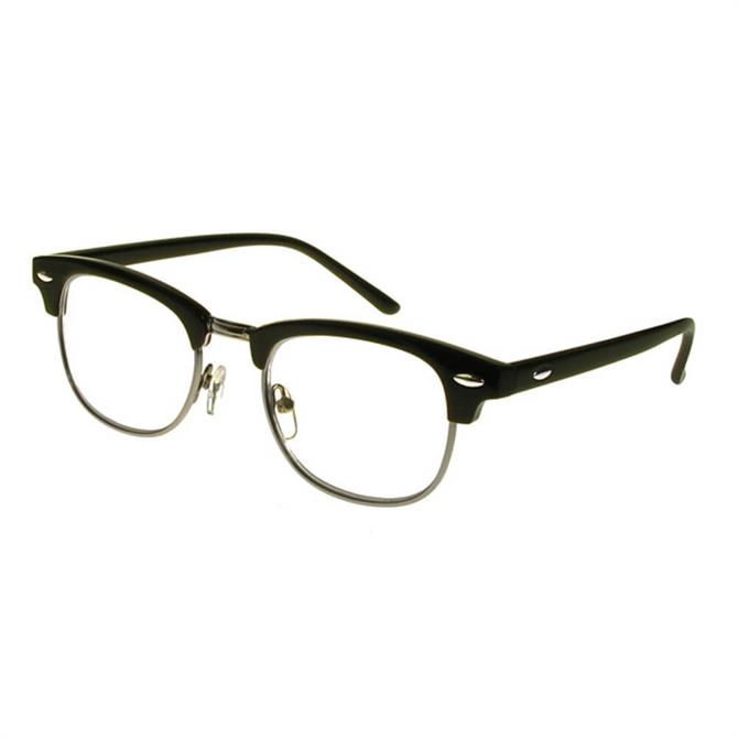 Goodlookers Bromley Black Reading Glasses