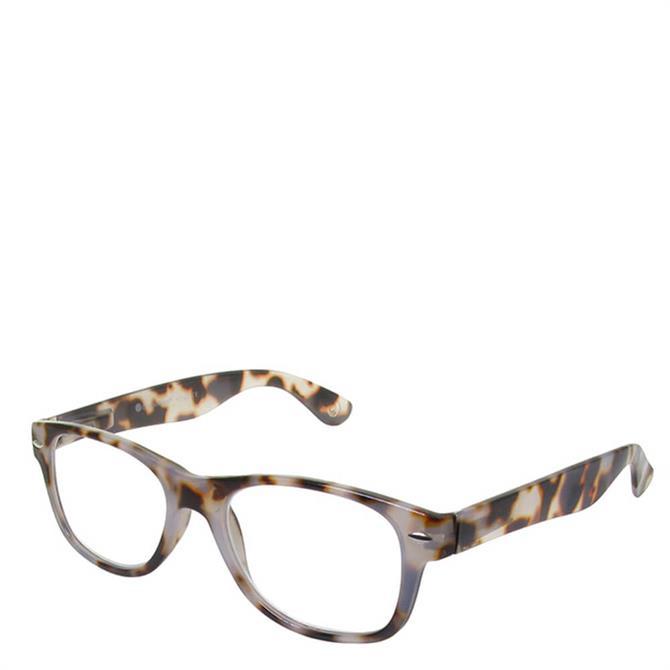 Goodlookers Billi White Tortoiseshell Reading Glasses