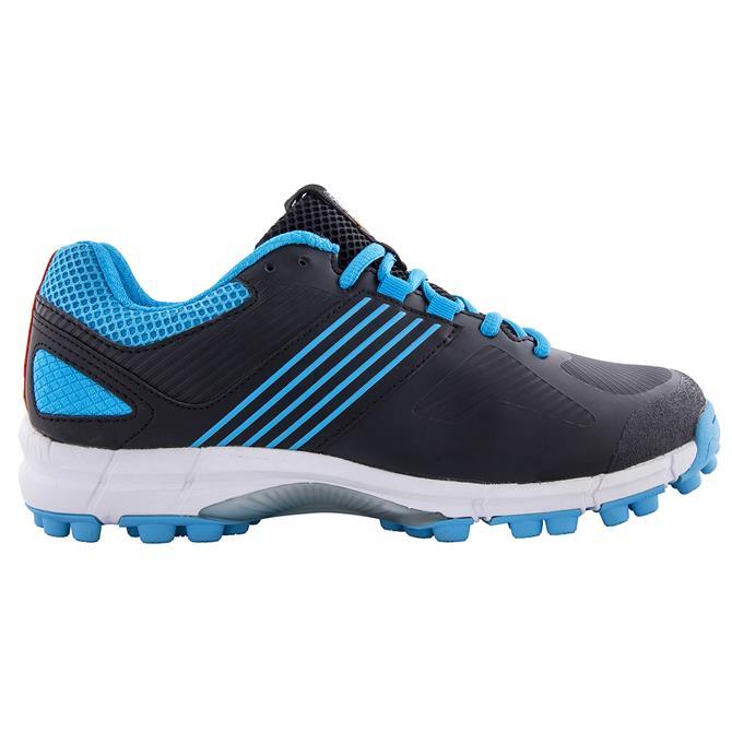 Grays Flash 2.0 Junior Hockey Shoe - Black/Blue