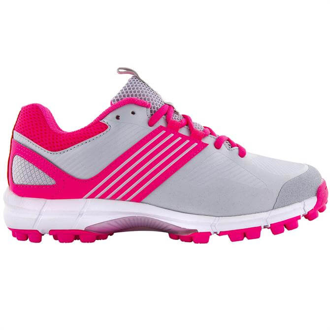 Grays Flash 2.0 Junior Hockey Shoe - Pink/Silver