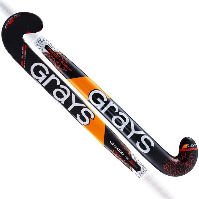 Grays GR5000 Midbow Junior Hockey Stick - Black/Orange