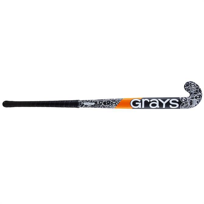 Grays GX Custom Edition Ultrabow Junior Hockey Stick - Black