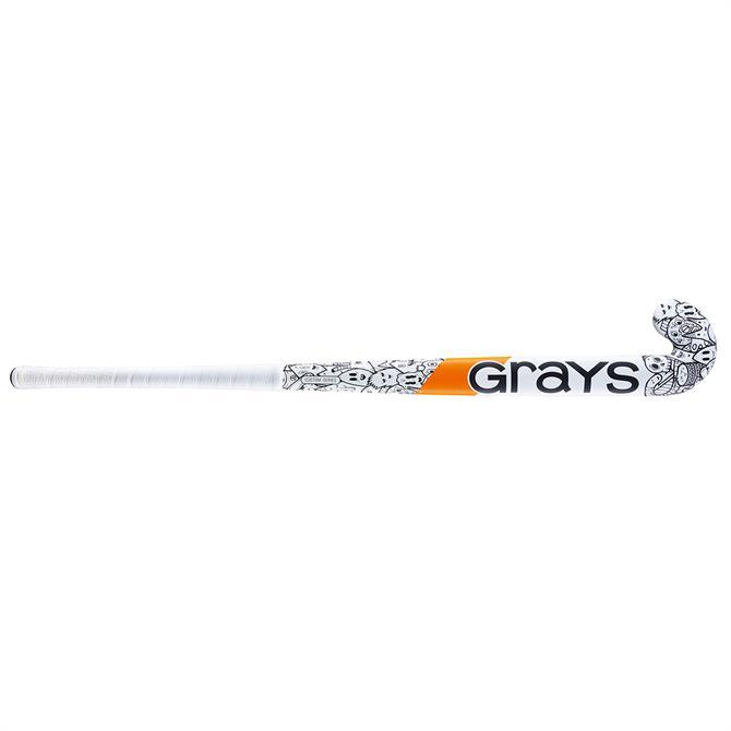 Grays GX Custom Edition Ultrabow Junior Hockey Stick - White