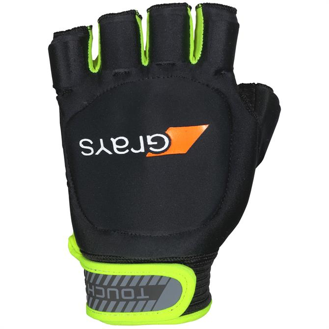 Grays Touch Hockey Glove - Black/Neon Yellow