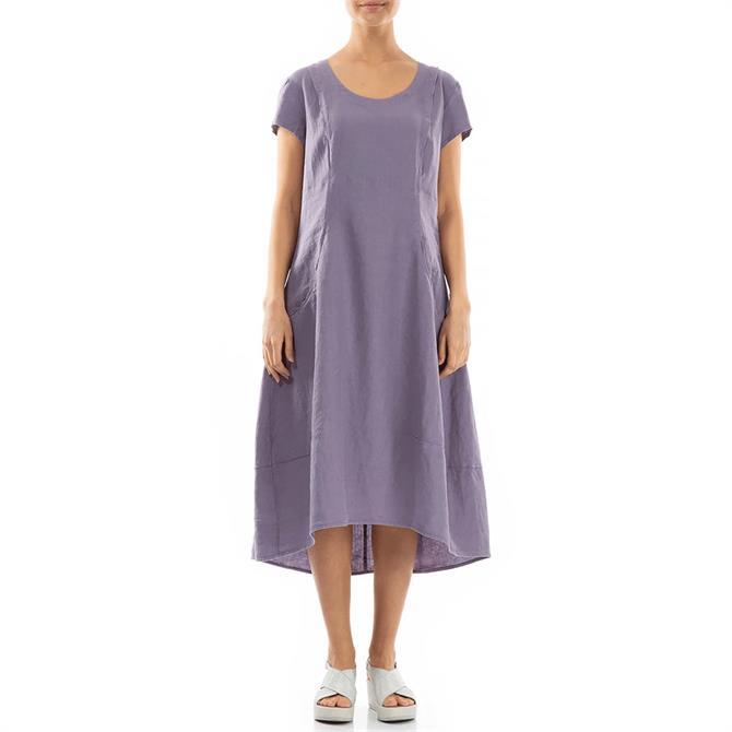 Grizas A-Line Linen Dress