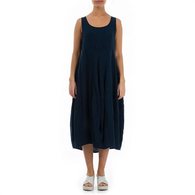 Grizas Balloon Sleeveless Midi Dress