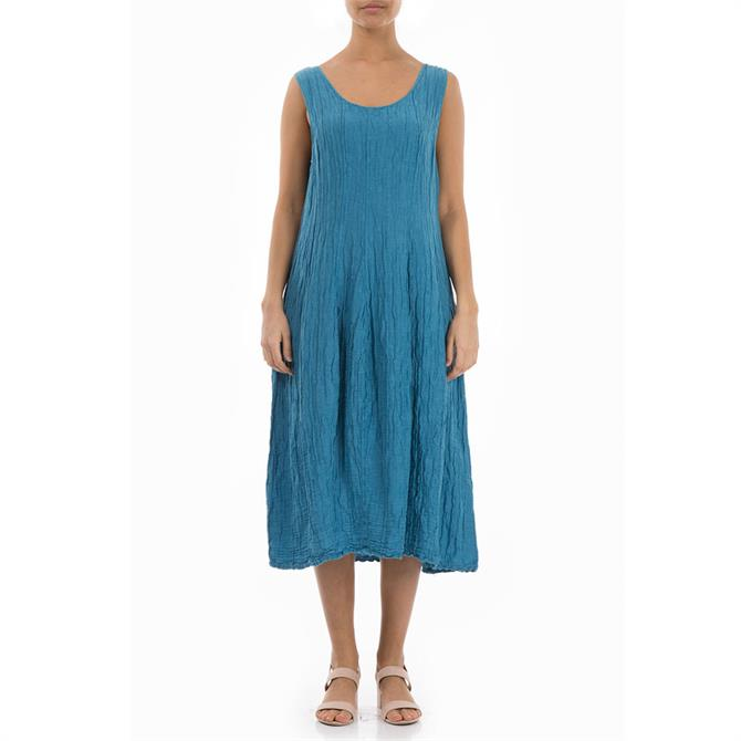 Grizas Sleeveless Balloon Midi Dress