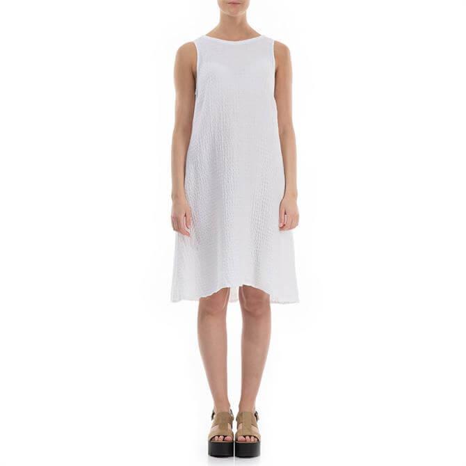 Grizas Textured Linen Tunic Dress