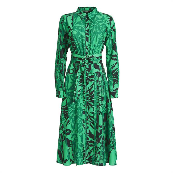 Guess Budur Floral Shirt Dress