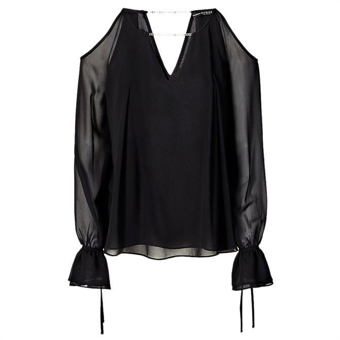 Guess Selina Cut-Out Blouse