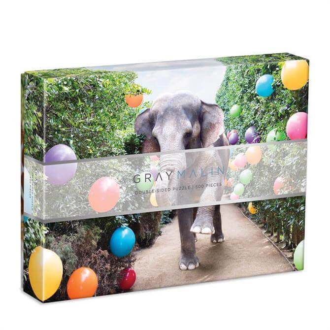 Galison Gray Malin Party At The Parker 2-Sided 500 Piece Jigsaw Puzzle