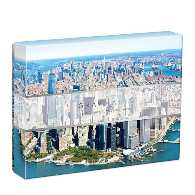 Galison Gray Malin New York City 500 Piece Double Sided Jigsaw Puzzle