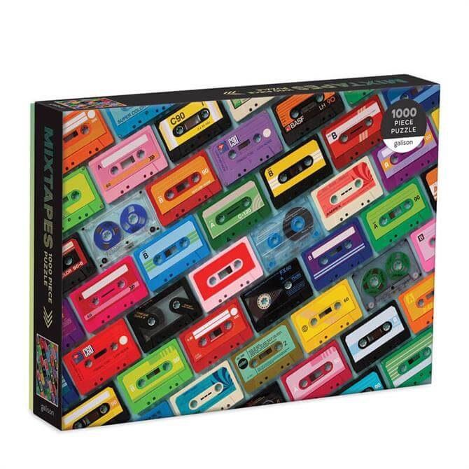 Galison Mixtapes 1000 Piece Jigsaw Puzzle