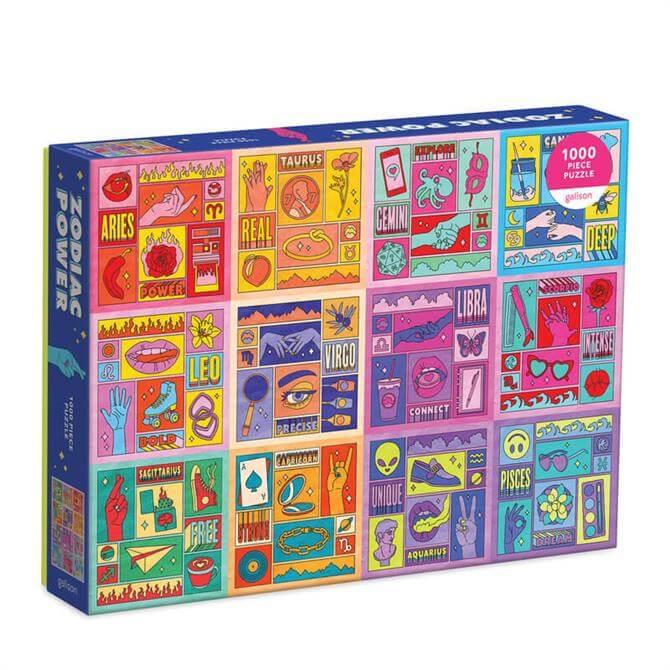 Galison Zodiac Power 1000 Piece Jigsaw Puzzle