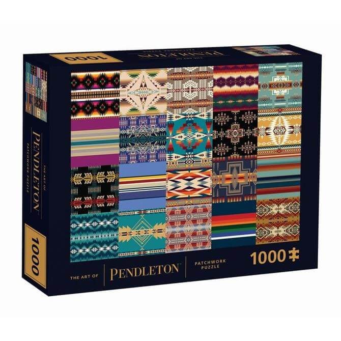 The Art of Pendleton Patchwork 1000 Piece Jigsaw Puzzle