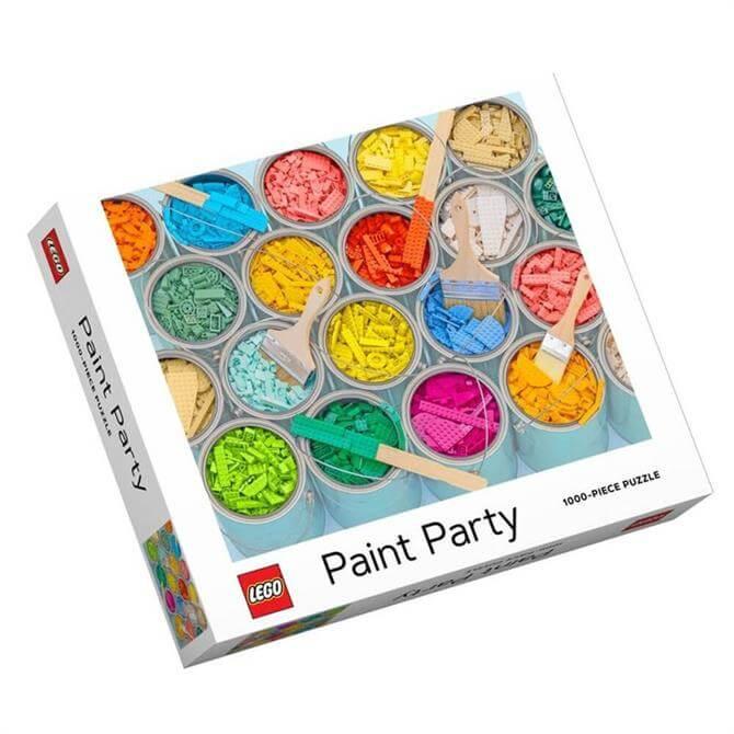 Lego Paint Party 1000 Piece Jigsaw Puzzle