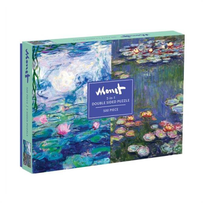 Monet Two-Sided Waterlily Jigsaw Puzzle