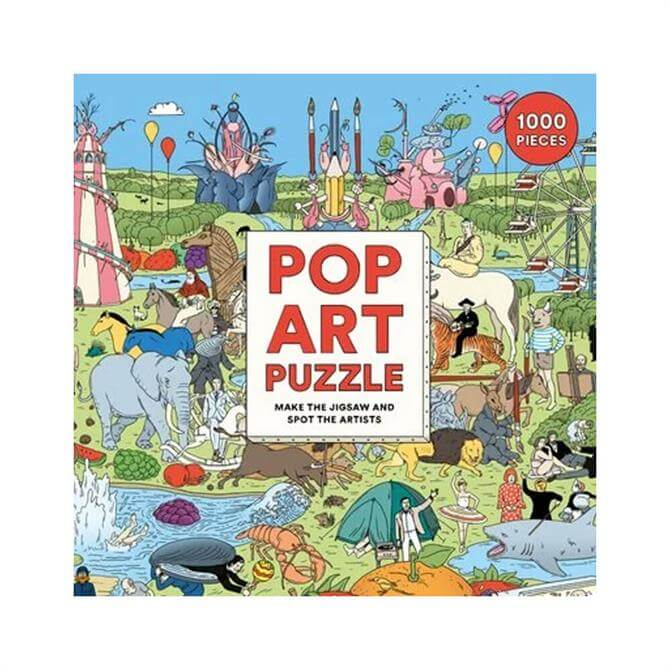 Pop Art 1000 Piece Jigsaw Puzzle