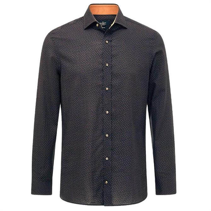 Hackett Contrast Trim Slim Fit Shirt