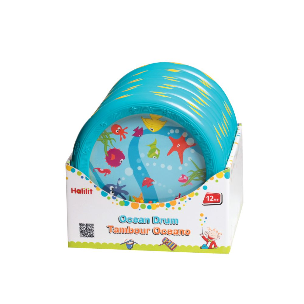 An image of Halilit Ocean Drum Musical Toy