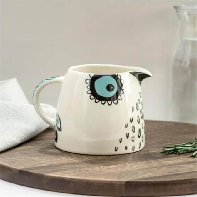 Hannah Turner Handmade Owl Milk Jug
