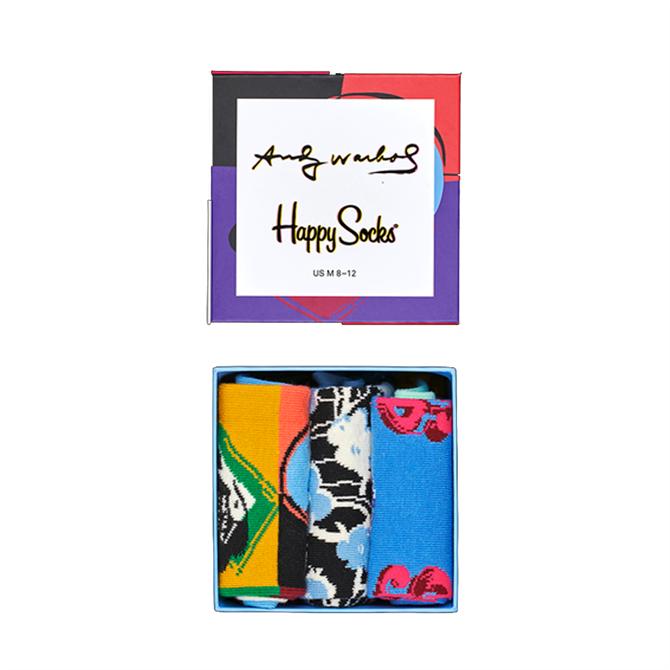 Happy Socks Andy Warhol Socks Gift Box