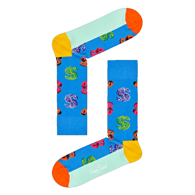 Happy Socks Andy Warhol Dollar Sign Sock
