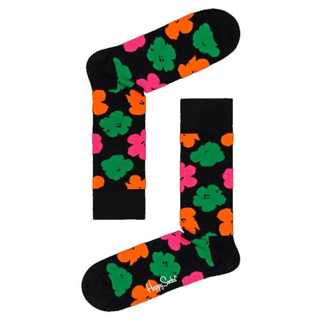 Happy Socks Andy Warhol Graphic Flower Socks