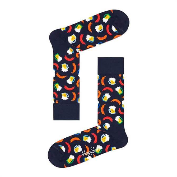 Happy Socks Beer and Sausage Socks